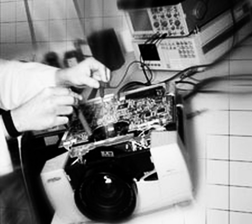 Projector-repair